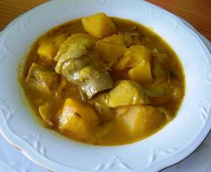 Spanish Dishes, Thai Red Curry, Veggies, Soup, Healthy Recipes, Cooking, Ethnic Recipes, Ethnic Food, Spain