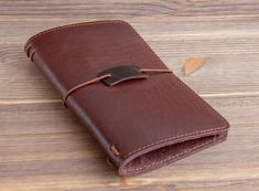 Items similar to Large size. Genuine Leather Cover for Moleskine Journal . on Etsy Leather Notepad, Pouch, Wallet, Journal Covers, Leather Cover, Travelers Notebook, Moleskine, Cow Leather, Dark Brown