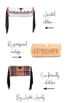Loveliest Blog Post by @Stylonylon on my Limited Edition Eco-Friendly Clutches <3