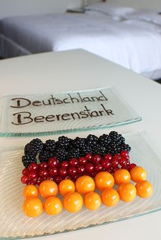 Special in-room treatment for our German soccer fans during World Cup 2014