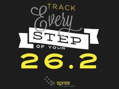 Track every step #teamspree