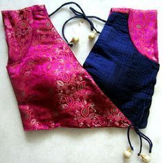 designer blouse stitching - Google Search