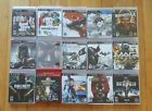 Lot of 15 Playstation 3 PS3 Games Assassin Creed God of War Batman and more