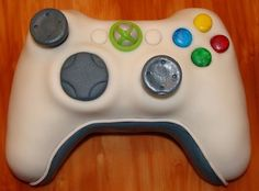 Xbox 360 Controller Cake by BellaCakes & Confections....this looks like you can pick it up and start to play a game!