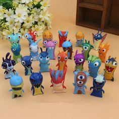 24pcs Slugterra PVC Figures Toys