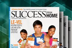 Next Le-Vel!  We are going to be featured in Success Magazine.  Growth and success.  Join my team for extra income or replace your job!  Up to you!  www.studiofit14.le-vel.com