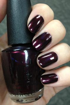 OPI. Aubergine...love it!