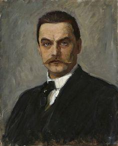 Albert Edelfelt-Self Portrait (1854-1905, Finland).