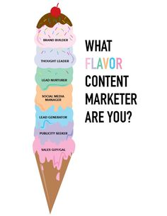 Your flavor of content marketing determines your level of success. Brand builders and thought leaders win – sales guys need not apply.