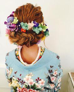 無敵の可愛さ。和装を着るなら参考にしたいヘアアレンジ・髪型たっぷり15選*   marry[マリー]