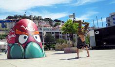 Arte urbana a bombar