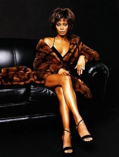 Fierce Whitney Houston!