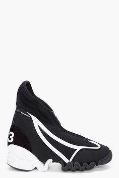 Y-3 Black Nomad Racer Sneakers