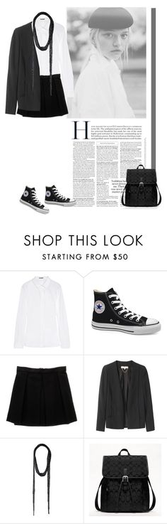 """""""Untitled #244"""" by patpatkay ❤ liked on Polyvore featuring Jil Sander, Victoria's Secret, Enza Costa, Vanessa Bruno and Coach"""