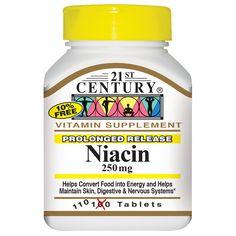 21st Century Health Care, Niacin, 250 mg, 110 Tablets - iHerb.com