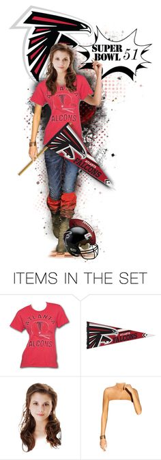 """""""Atlanta Falcons  - Super Bowl 51"""" by girlyideas ❤ liked on Polyvore featuring art"""