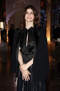 Alexandra Daddario attends the Genny fashion show during Milan Fashion Week. Alexandra Daddario, Beautiful Female Celebrities, Most Beautiful Women, Fashion Show, Girl Fashion, Italian Actress, Milan Fashion Weeks, White Girls, New Girl
