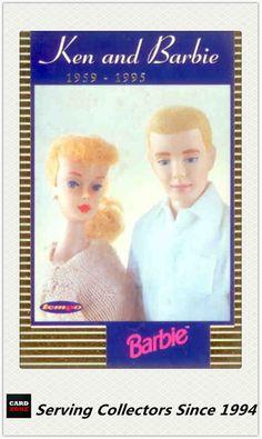 1996 Australia Tempo 36 Years of Barbie Trading Cards Ken Barbie KB1 | eBay