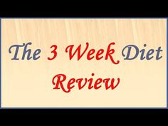 3 Week Diet Reviews: Is it a Real Deal? | Waisttrimmers