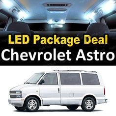 LED Interior Package Deal for 1998 Chevrolet Astro (8 Pie...