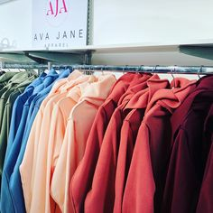 Our Spring Colors are 50% off!! Yay! Sale!! Warm, Cozy, wear all day Athleisure wear! Jane Clothing, Athleisure Wear, Spring Colors, Ava, Wraps, Cute Outfits, Cozy, How To Wear, Clothes