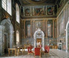 Blenheim Palace saloon; 1705–1724; Oxfordshire, England; Sir John Vanbrugh and Nicholas Hawksmoor.