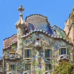 barcelona buildings my gaudi | ... by Antoni Gaudí in Barcelona, Spain - Photo by Nikada/E+/Getty Images
