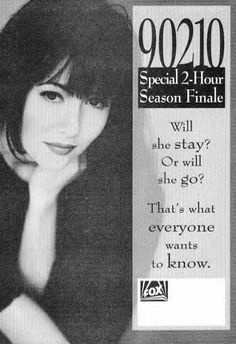 Broke my heart when she left! Beverly Hills 90210, 90210 Cast, The Originals Tv Show, Jennie Garth, Shannen Doherty, Luke Perry, Fox Tv, Tv Guide, My Heart Is Breaking