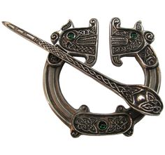 Pictish penannular design based on a find from St Ninian's Isle hoard ca. 8th/9th C