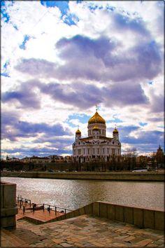 Christ the Savior Cathedral, Moscow, Russia. Photo by Tatiana Konstantinova