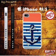 Anchor iphone 4s case and iphone 5 case Anchor iphone 4 case, iphone 4s case, iphone 5 case