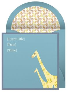 Plan a zoo themed baby shower complete with zoo shower invitations, decorations, games and more. Baby Shower Themes, Shower Ideas, Cute Giraffe, Little Babies, Shower Invitations, Cubs, Children, Party, Young Children