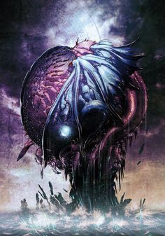 Elder god (artist unknown)