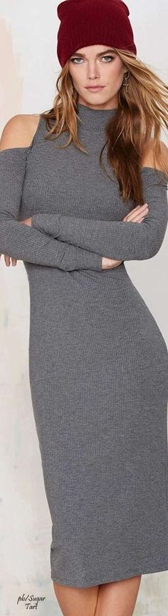 Fall Spirit! #grey #outfit