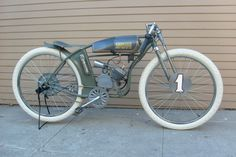While most of these are not technically real Board Track Racers but mere replicas and some of them are just bicycles. Description from chicosgarage.wordpress.com. I searched for this on bing.com/images