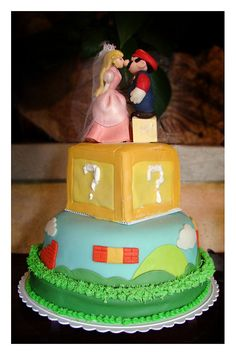 The Mario wedding cake with Peach and Mario on top. Note how she's kissing his nose. So cuuuuuuute.   OBB Catnippe     http://www.timemart.vn  http://www.timemart.vn/305/p/320739/bep-hong-ngoai-bep-tu.html  http://www.timemart.vn/305/pr/342411/CS+900W/bep-hong-ngoai-cam-ung-sooxto-japan-st-04.html