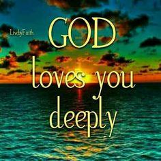 Yes HE Does!!❤❤❤ I Love You God, In God We Trust, Faith In Love, God Loves You, Gods Love, Feeling Hopeless, Morning Greetings Quotes, Love Truths, God Jesus