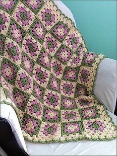 Grandma's Favorite Afghan #81082AD pattern by Lion Brand Yarn