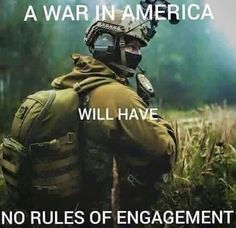 We the people are armed and will fight side by side with our military