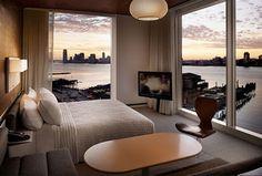Diseños de Impresionantes Habitaciones con Vistas Increíbles : Decorar tu Habitación