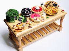 Dessert Table by Bon-AppetEats.deviantart.com