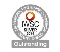 International Wine & Spirit Competition – IWSC 2014 - Silver Outstanding
