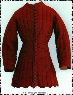 Creations Costumes - pourpoint charles VI - Savoie Médiévale