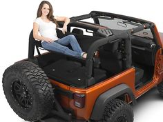 extremeterrain - Images for Jammock Black Jeep Hammock Wrangler YJ, TJ & JK) Black Jeep Wrangler, Jeep Wrangler Interior, Jeep Wrangler Lifted, Wrangler Tj, Lifted Jeeps, Lifted Ford, Accessoires De Jeep Wrangler, Jeep Wrangler Accessories, Unique Jeep Accessories
