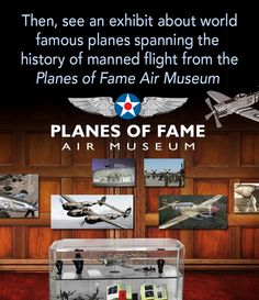 Come see an exhibit from the Planes of Fame Air Museum at The El Capitan Theatre during Disney's Planes, showing from Aug 8 - Sep 18! — at The El Capitan Theatre.