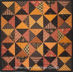 American Vintage Quilts: Finished in the nick of time.