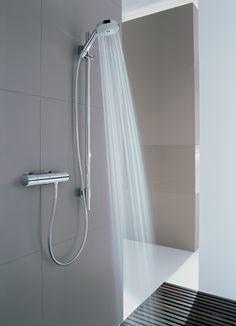 Grohtherm 3000 Cosmopolitan : Minimalist design High End Kitchens, Shower Fixtures, Guest Bath, Bath Time, Shower Heads, Houzz, Cosmopolitan, Kitchen And Bath, Minimalist Design