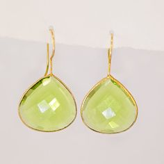 Some sort of PERIDOT GREEN jewelry (Cecelia's birthstone)