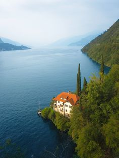 Lake Como. I wish I could stay there for a few days.