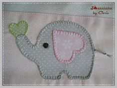 elefante fralda de ombro | by Joanninha by Chris